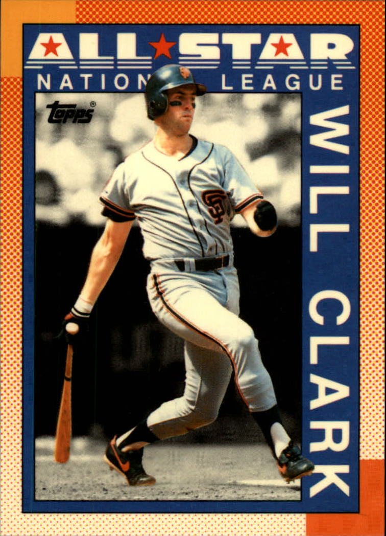 1990 Topps Tiffany #397 Will Clark AS
