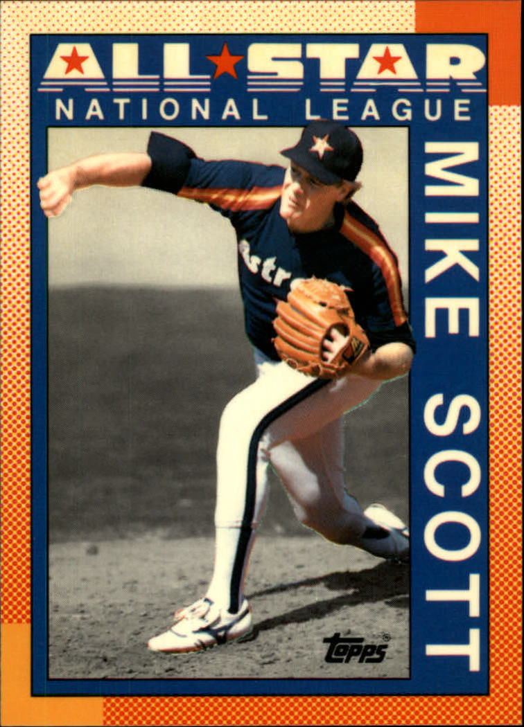 1990 Topps Tiffany #405 Mike Scott AS