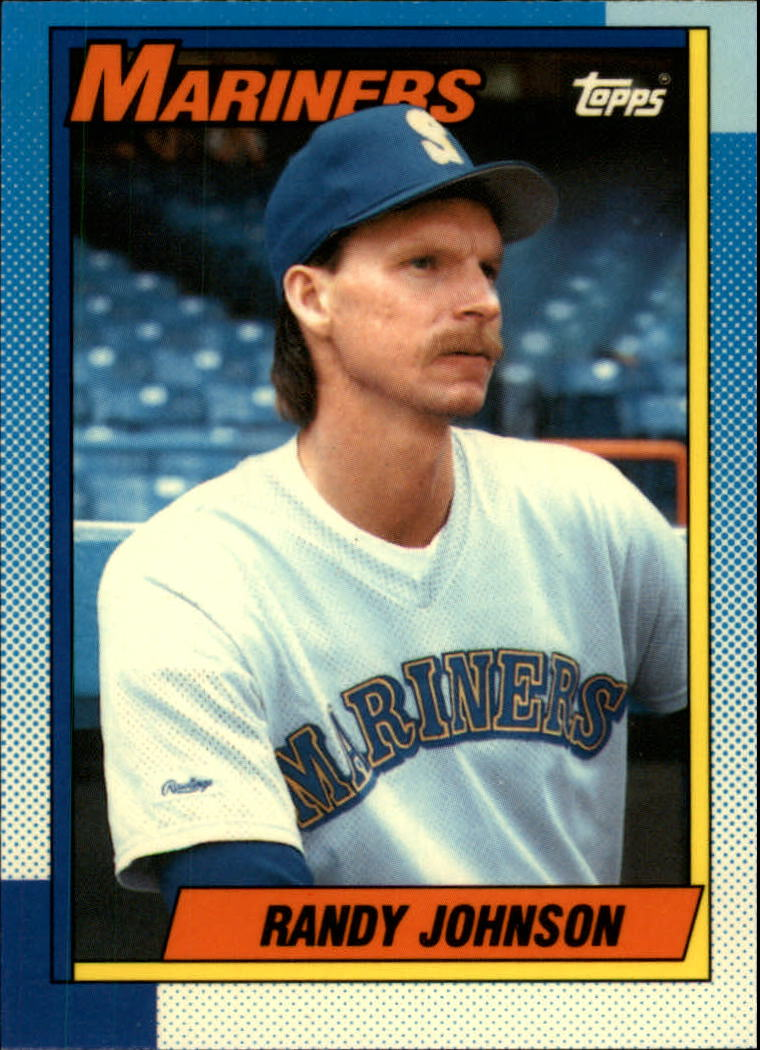 1990 Topps Tiffany #431 Randy Johnson