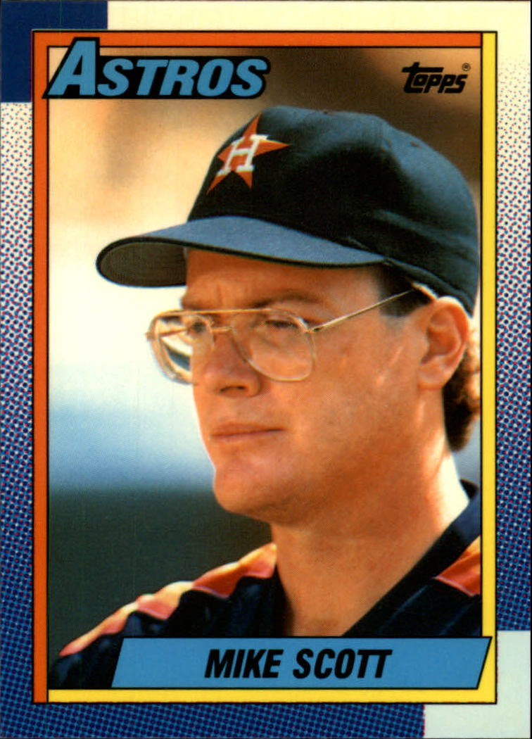 1990 Topps Tiffany #460 Mike Scott