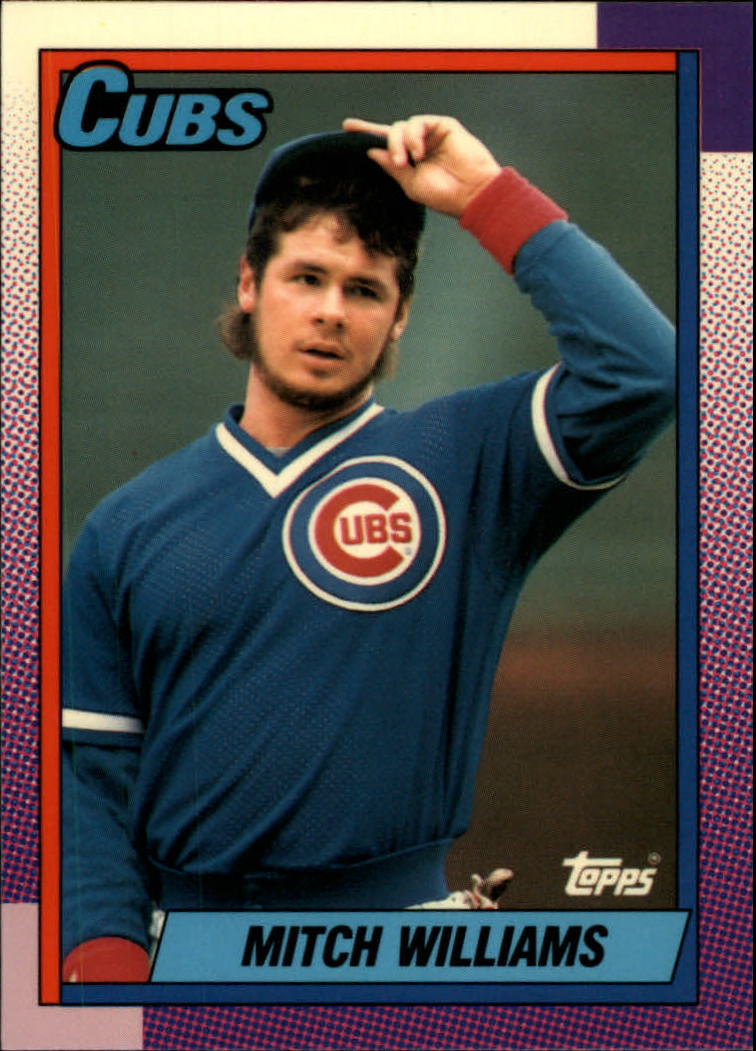 1990 Topps Tiffany #520 Mitch Williams front image