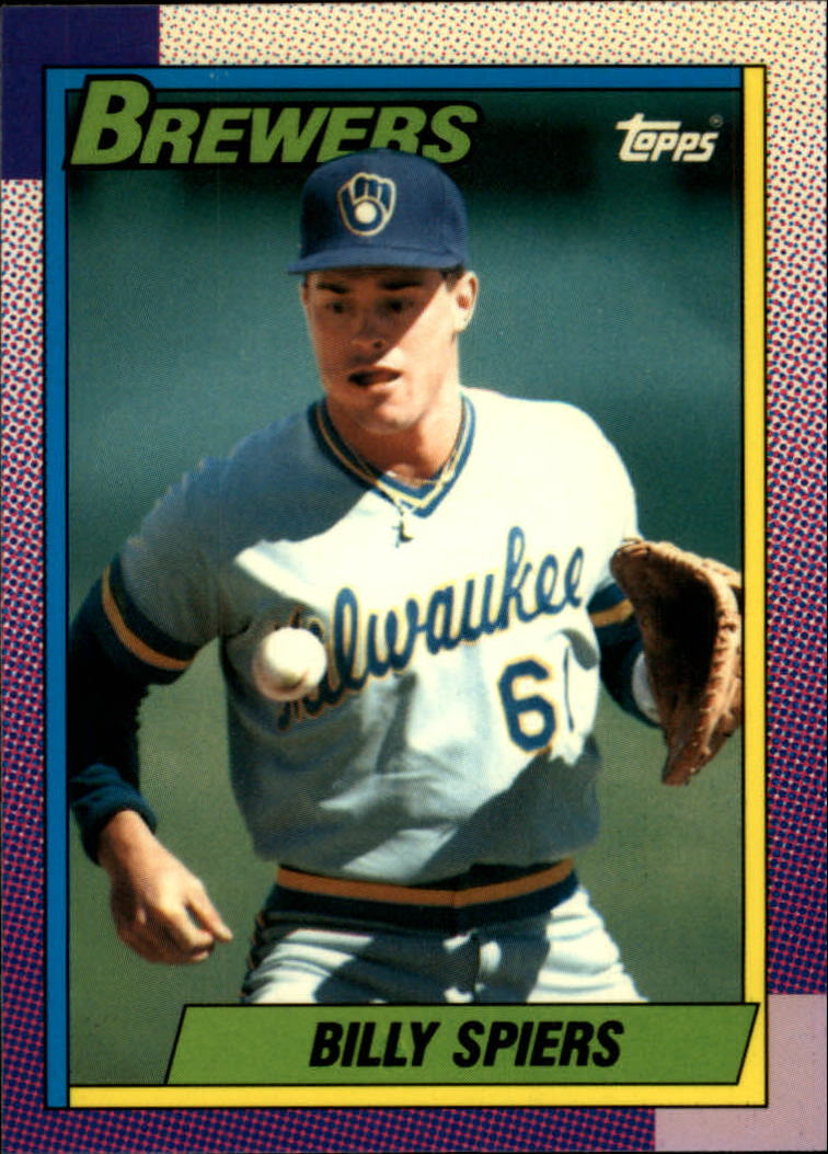 1990 Topps Tiffany #538 Bill Spiers UER/(Photo actually/George Canale)