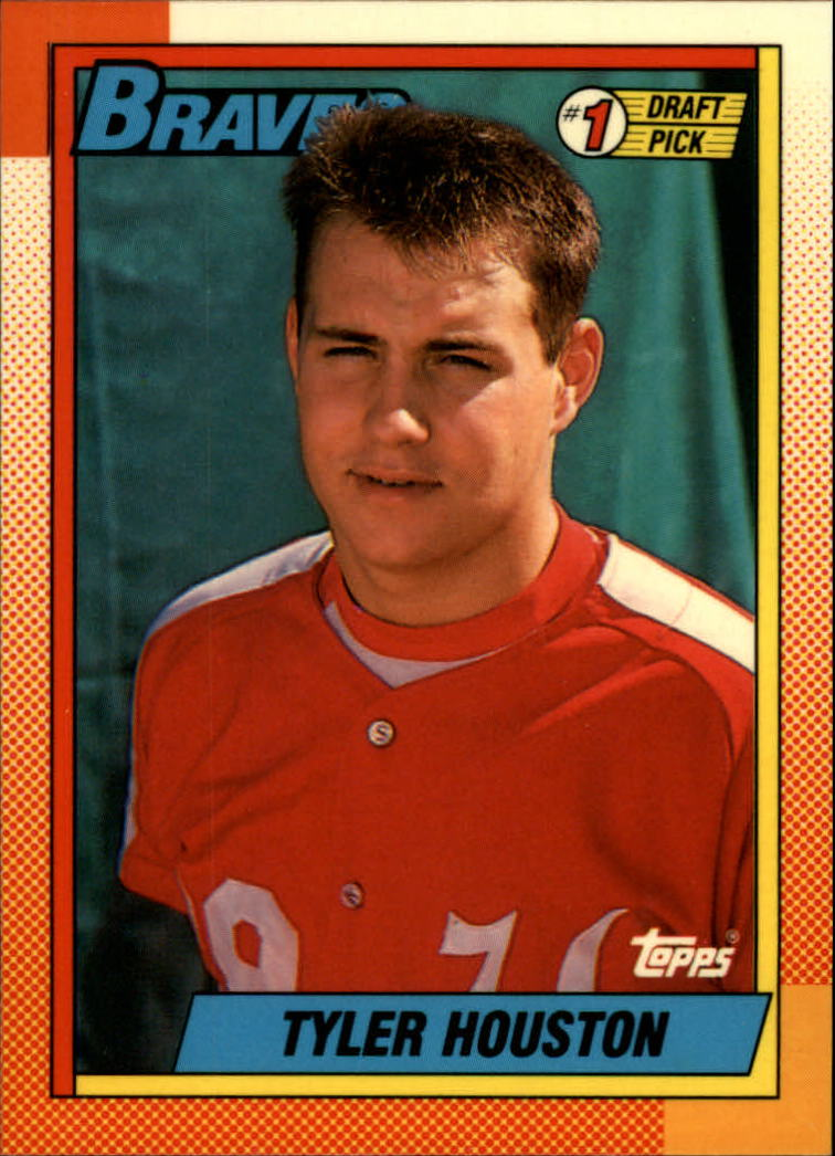 1990 Topps Tiffany #564 Tyler Houston FDP front image