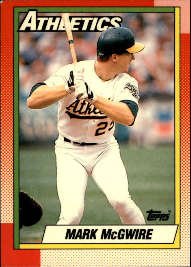 1990 Topps Tiffany #690 Mark McGwire