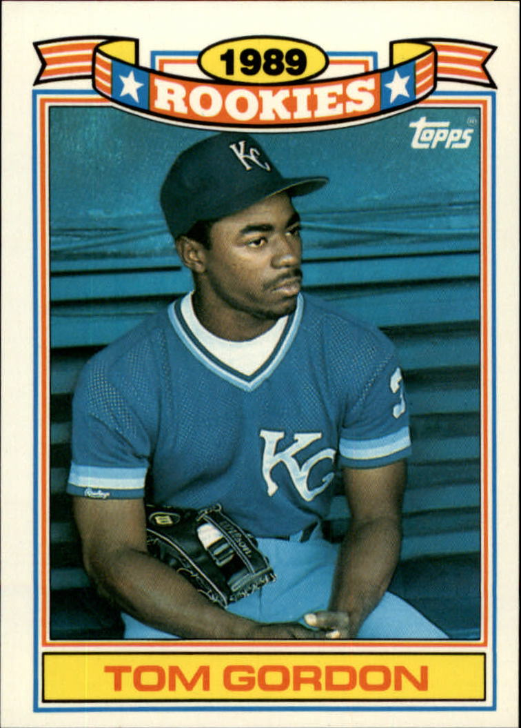 1990 Topps Rookies #10 Tom Gordon
