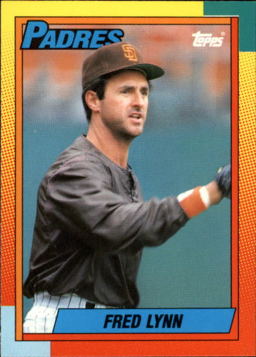 1990 Topps Traded #62T Fred Lynn