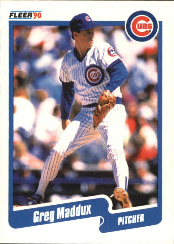 1990 Fleer Canadian #37 Greg Maddux