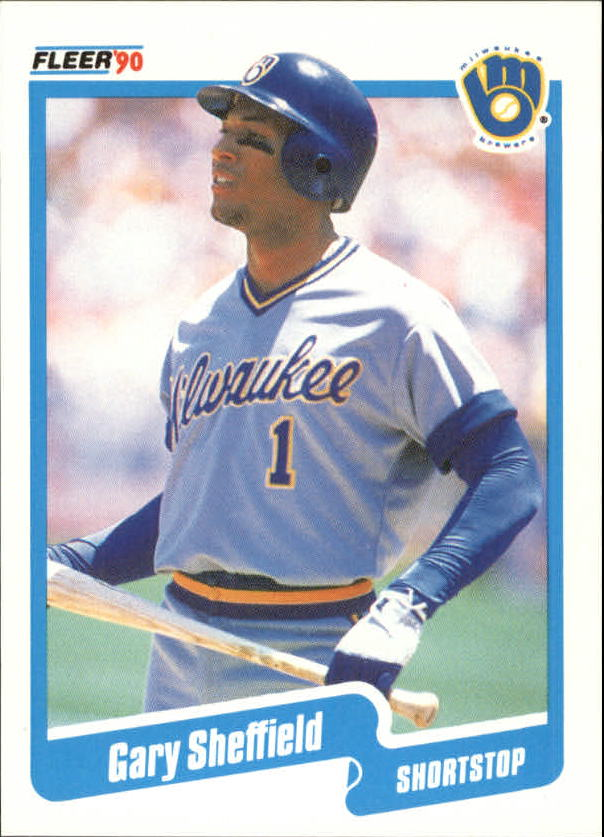 1990 Fleer Canadian #336 Gary Sheffield UER