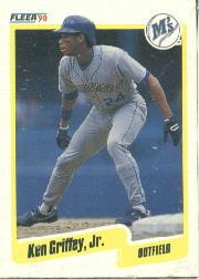 1990 Fleer Wax Box Cards #C10 Ken Griffey Jr.