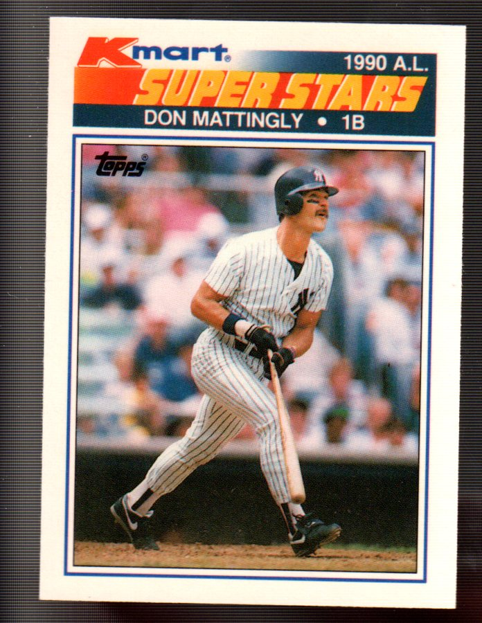 1990 K-Mart #17 Don Mattingly