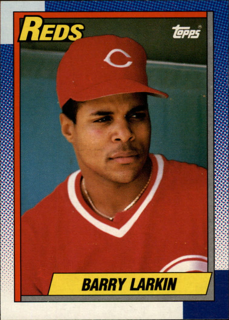 1990 O-Pee-Chee #10 Barry Larkin