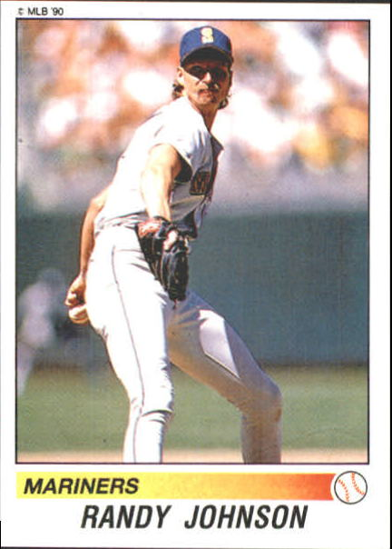 1990 Panini Stickers #154 Randy Johnson
