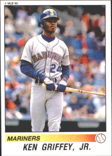1990 Panini Stickers #155 Ken Griffey Jr.