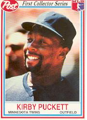 1990 Post #3 Kirby Puckett