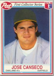 1990 Post #16 Jose Canseco
