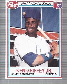 1990 Post #23 Ken Griffey Jr.