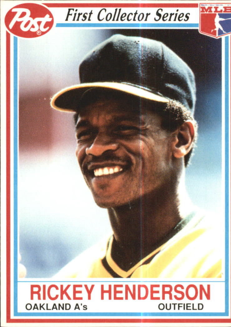 1990 Post #25 Rickey Henderson