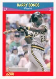 1990 Score 100 Superstars #53 Barry Bonds