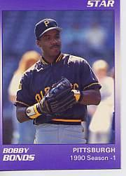 1990 Star Bonds #3 Barry Bonds/1990 Season