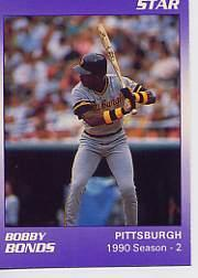 1990 Star Bonds #4 Barry Bonds/1990 Season