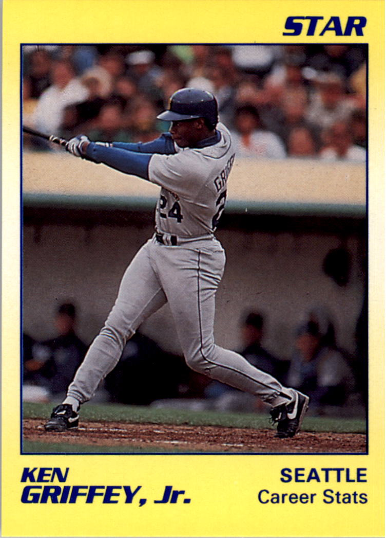 1990 Star Griffey Jr. #2 Ken Griffey, Jr./Career Stats