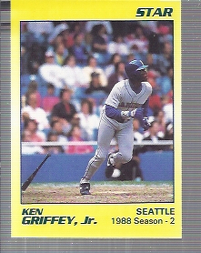 1990 Star Griffey Jr. #4 Ken Griffey, Jr./1988 Season - 2