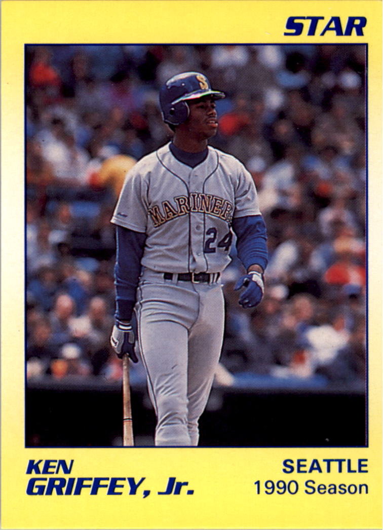 1990 Star Griffey Jr. #6 Ken Griffey, Jr./1990 Season