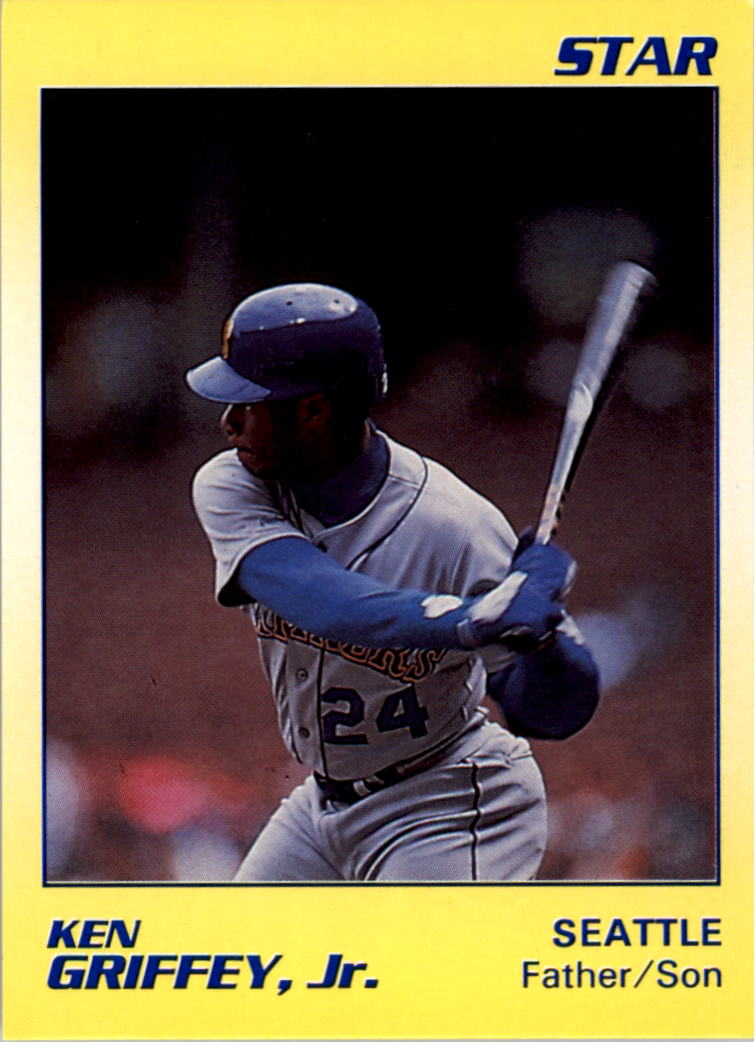 1990 Star Griffey Jr. #9 Ken Griffey, Jr./Ken Griffey Sr./Father/Son