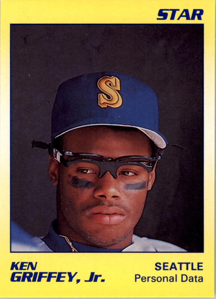 1990 Star Griffey Jr. #10 Ken Griffey, Jr./Personal Data