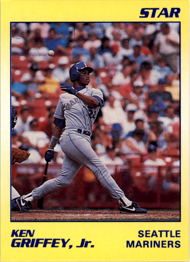 1990 Star Griffey Jr. #11 Ken Griffey, Jr./Seattle Mariners