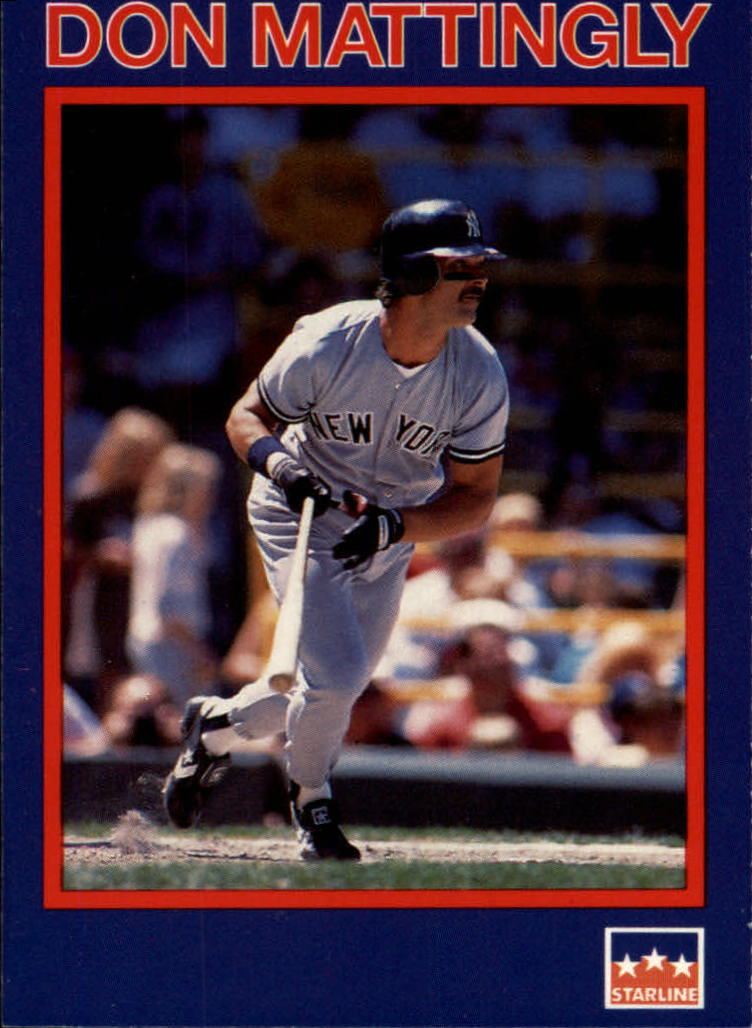 1990 Starline Long John Silver #1 Don Mattingly