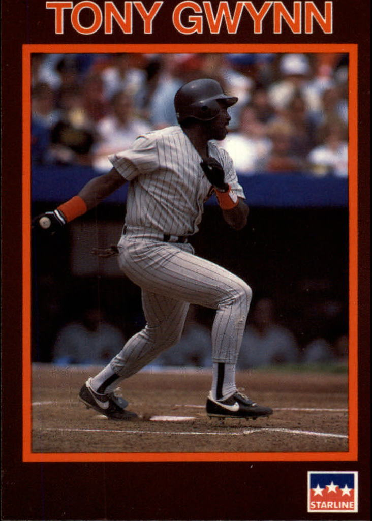 1990 Starline Long John Silver #4 Tony Gwynn