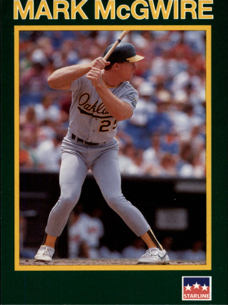 1990 Starline Long John Silver #9 Mark McGwire