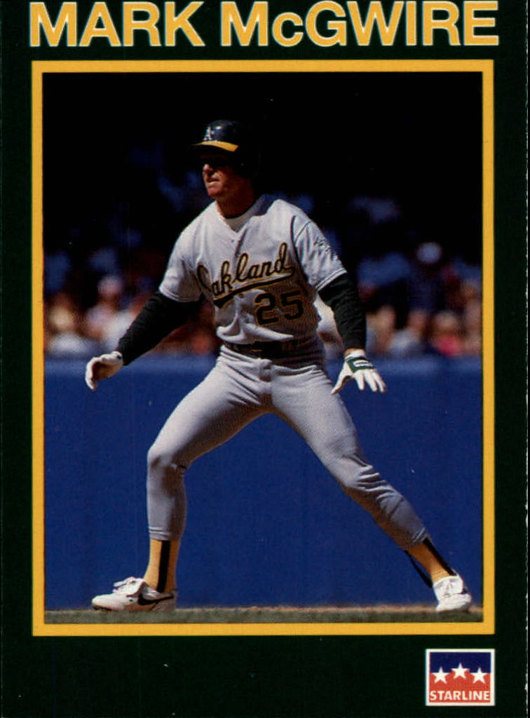 1990 Starline Long John Silver #27 Mark McGwire