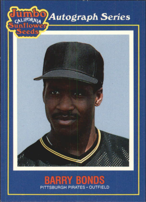 1990 Sunflower Seeds #9 Barry Bonds