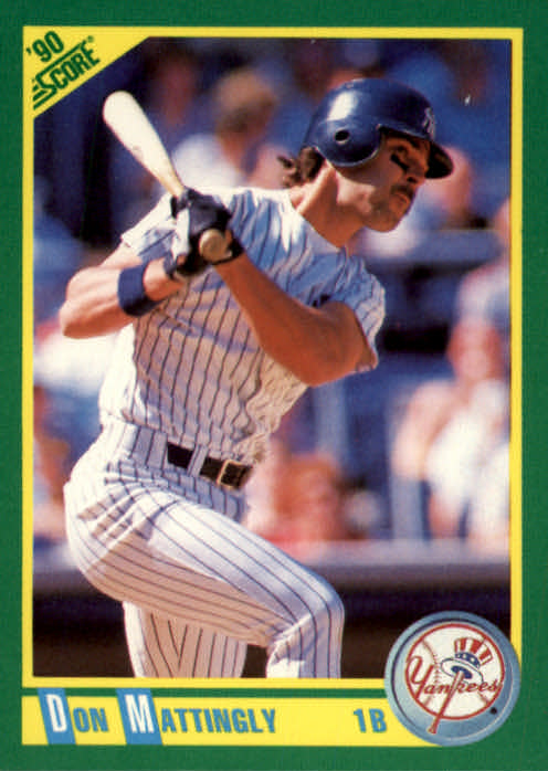 1990 Score #1 Don Mattingly