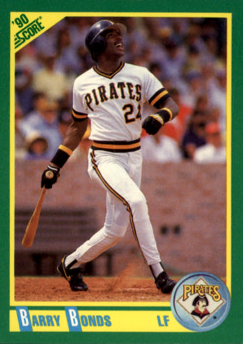 1990 Score #4 Barry Bonds