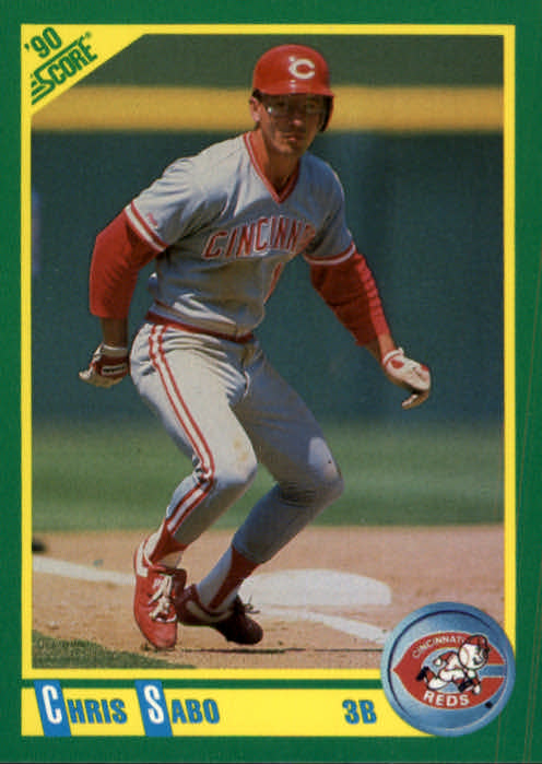 1990 Score #70 Chris Sabo