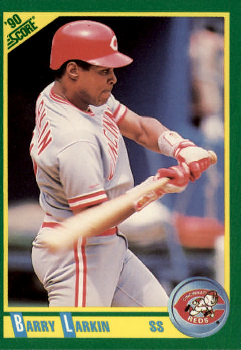 1990 Score #155 Barry Larkin