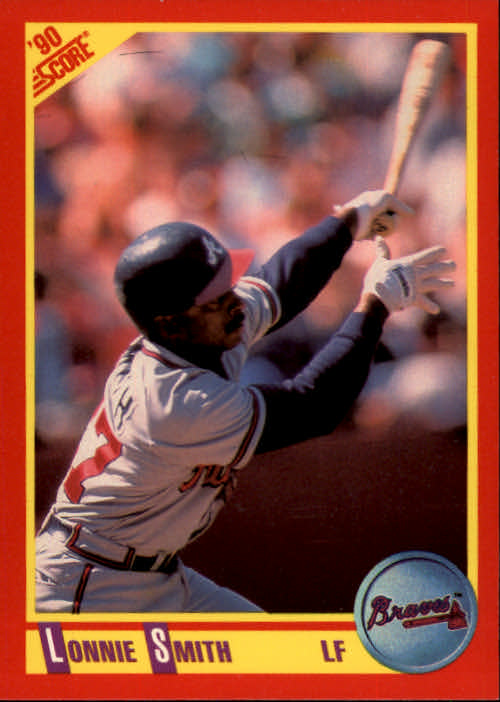 1990 Score #399 Lonnie Smith