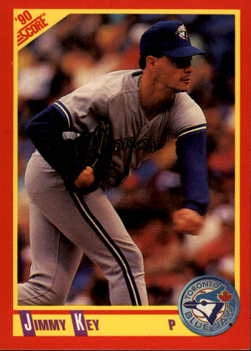 1990 Score #407 Jimmy Key