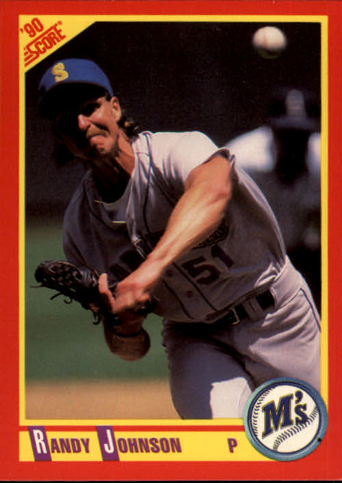 1990 Score #415 Randy Johnson