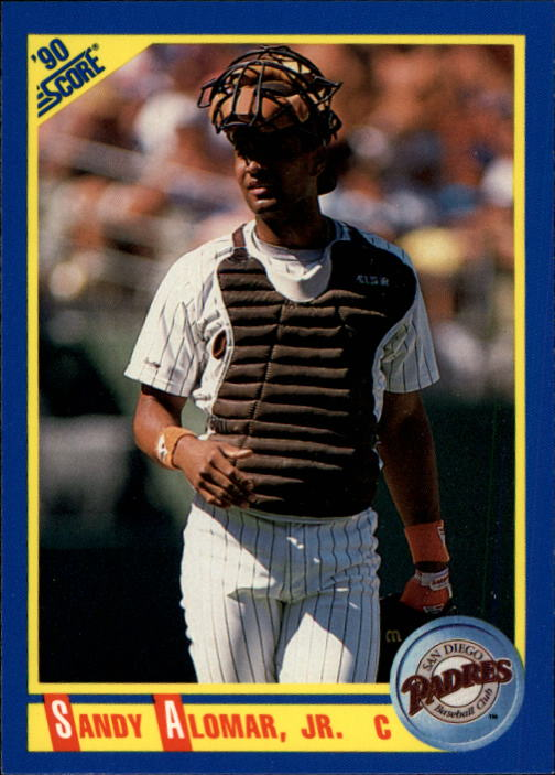 1990 Score #577 Sandy Alomar Jr.