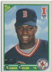 1990 Score #675 Mo Vaughn RC