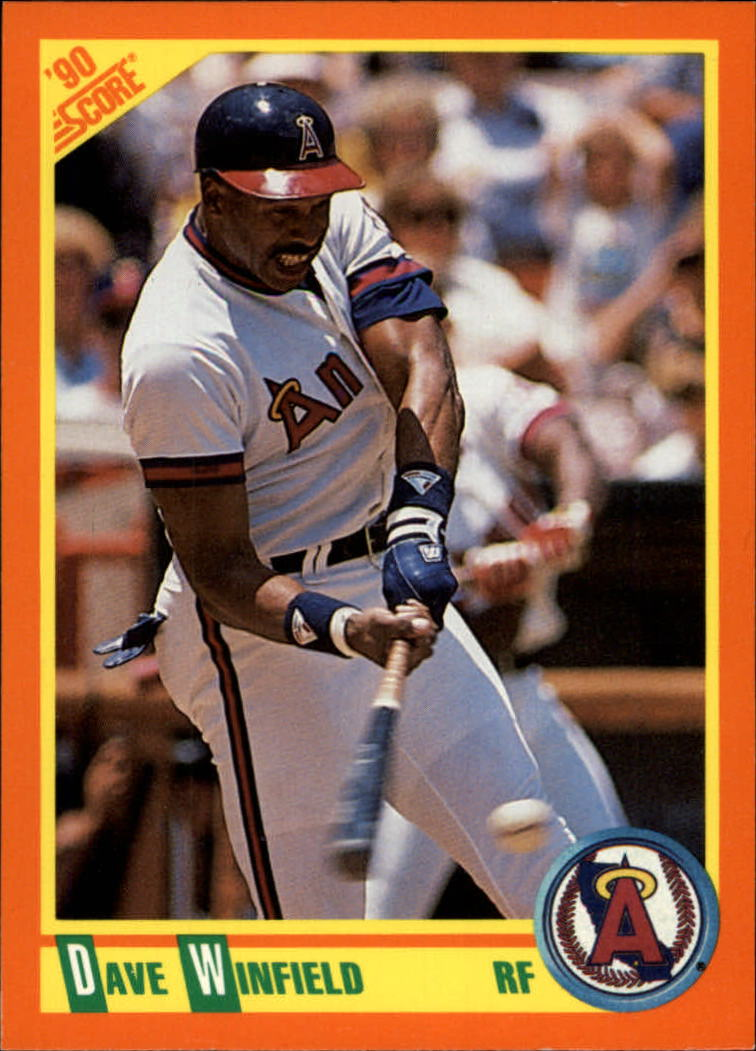 1990 Score Rookie/Traded #1T Dave Winfield