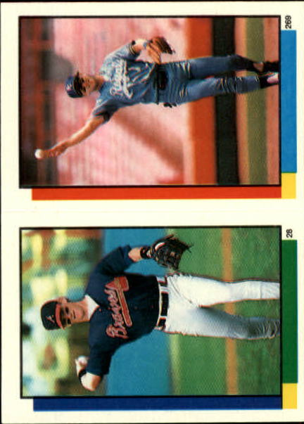 1990 Topps Sticker Backs #49 Ken Griffey Jr.