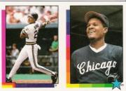 1990 Topps Stickers #9 Barry Bonds HL (325)