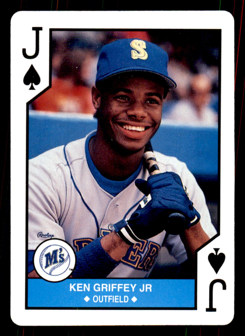 1990 U.S. Playing Cards All-Stars #11S Ken Griffey Jr.