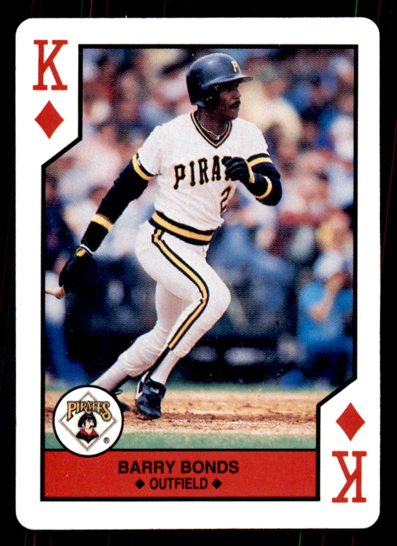 1990 U.S. Playing Cards All-Stars #13D Barry Bonds