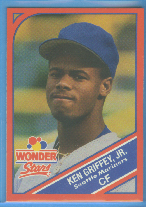 1990 Wonder Bread Stars #18 Ken Griffey Jr.